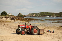 Bryher transport, Isles of Scilly © Richard Croft